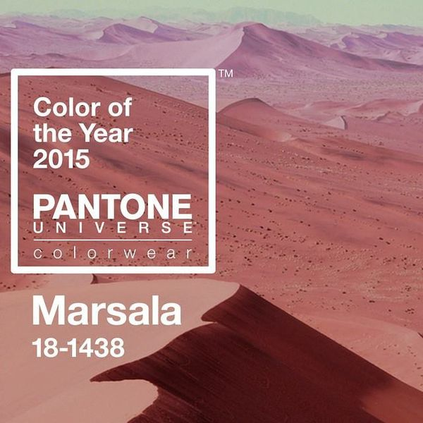 marsala couleur pantone 2015 a part a. Black Bedroom Furniture Sets. Home Design Ideas