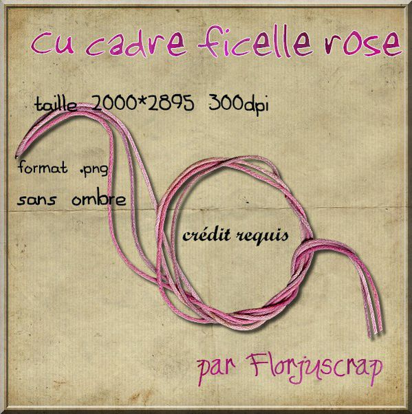 cadre ficelle rose Preview-ficelle-rose