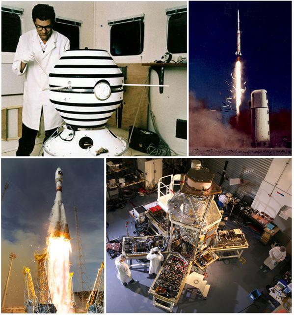 Satellites Astérix A1 - Pléaides 1B - Intégration et lan