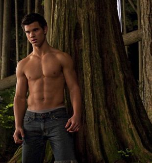 Taylor Lautner Shirtless in Eclipse