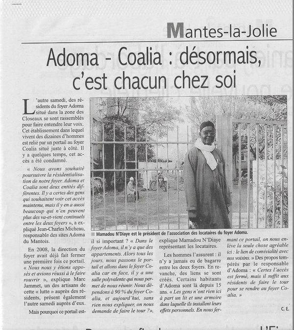Le Courrier Adoma