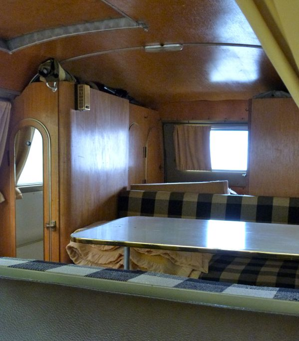 Vw combi split westfalia 1959 for Interieur westfalia
