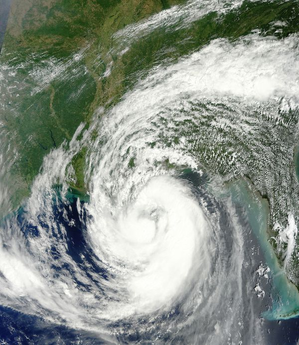 Terra - MODIS - Hurricane Isaac - Louisiane - 28-08-2012
