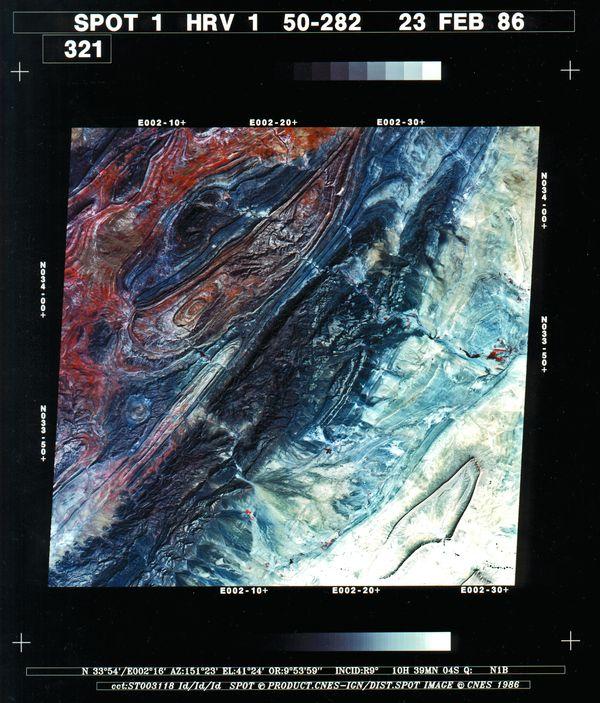 Spot 1 - Première image - Djebel Amour - février 1986