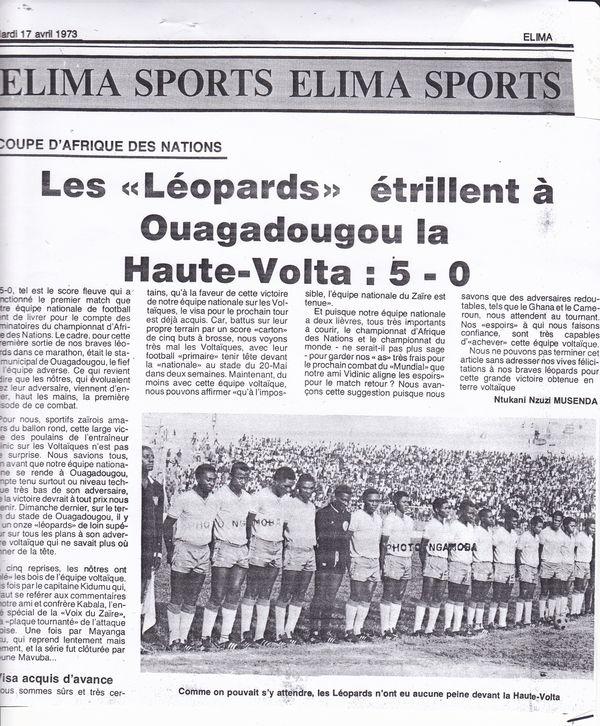 Léopards Haute-Volta
