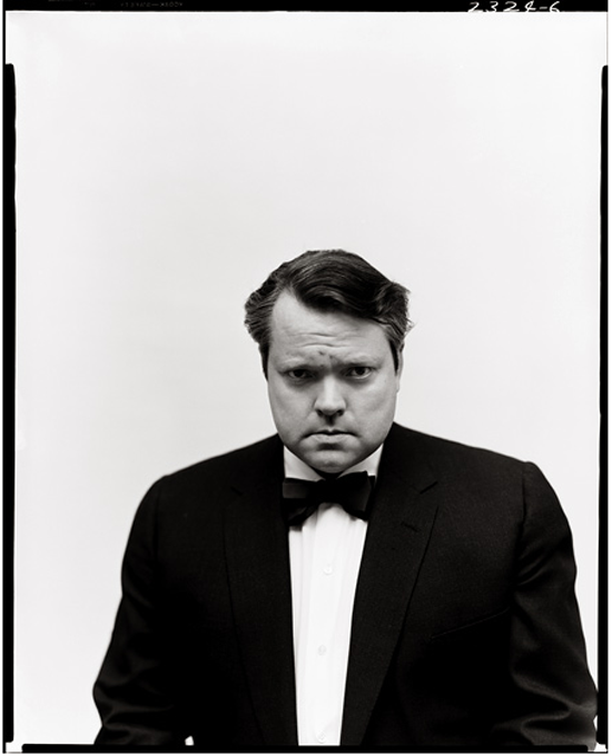 Orson Welles, New York, 1955. Photographed by Richard Avedo
