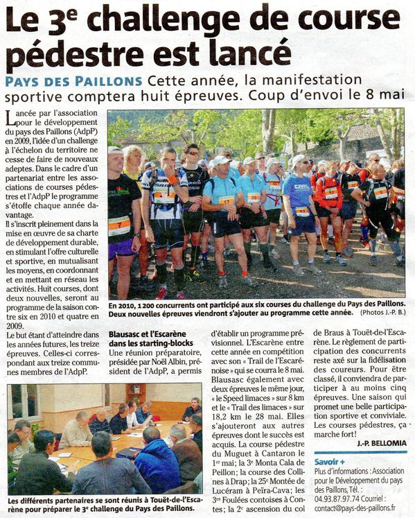 Challenge Paillons 2011