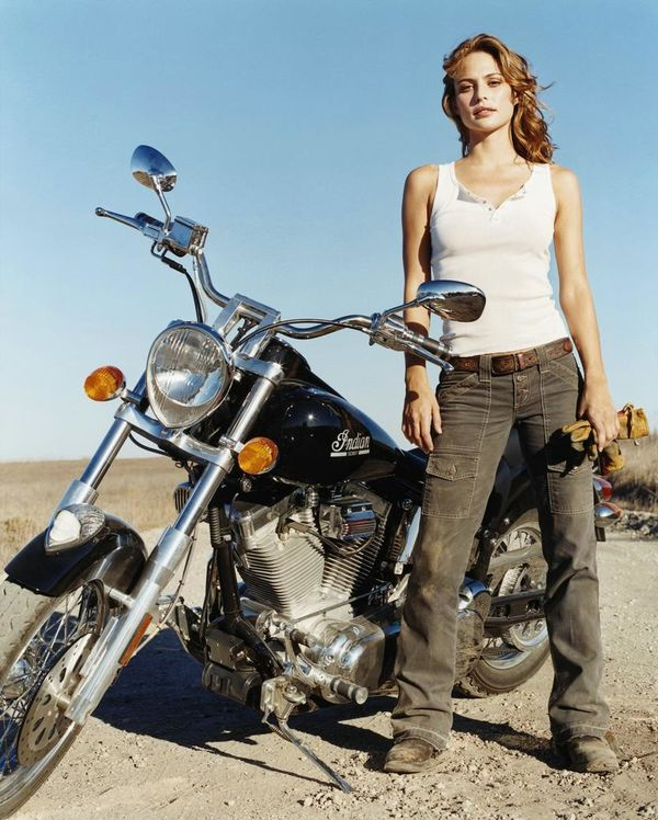 2012 biker chicks Josie Maran 004 www.leakedcelebs.com