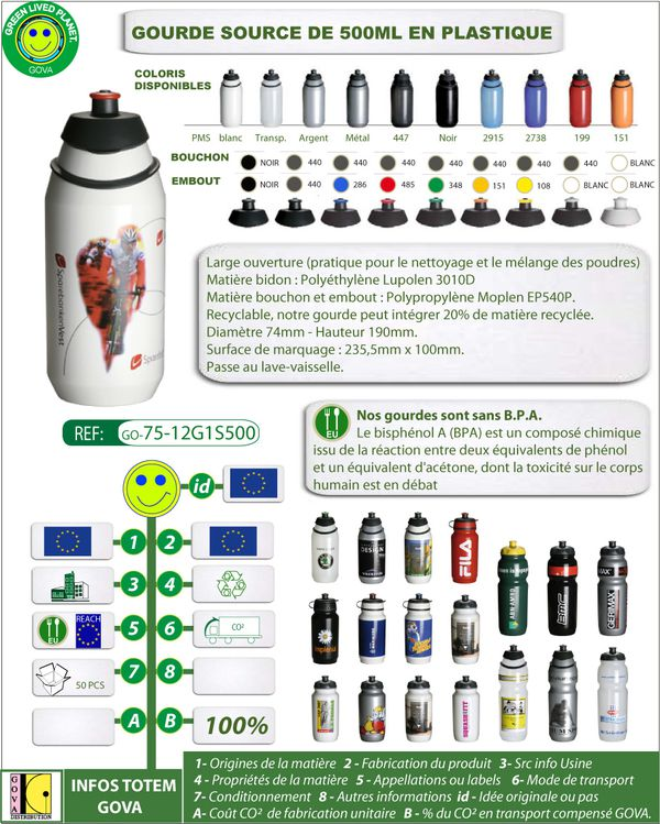 Gourde SOURCE 500ml