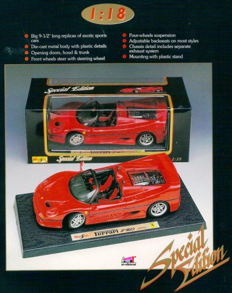 catalogue-maisto-1996-ferrari-f50