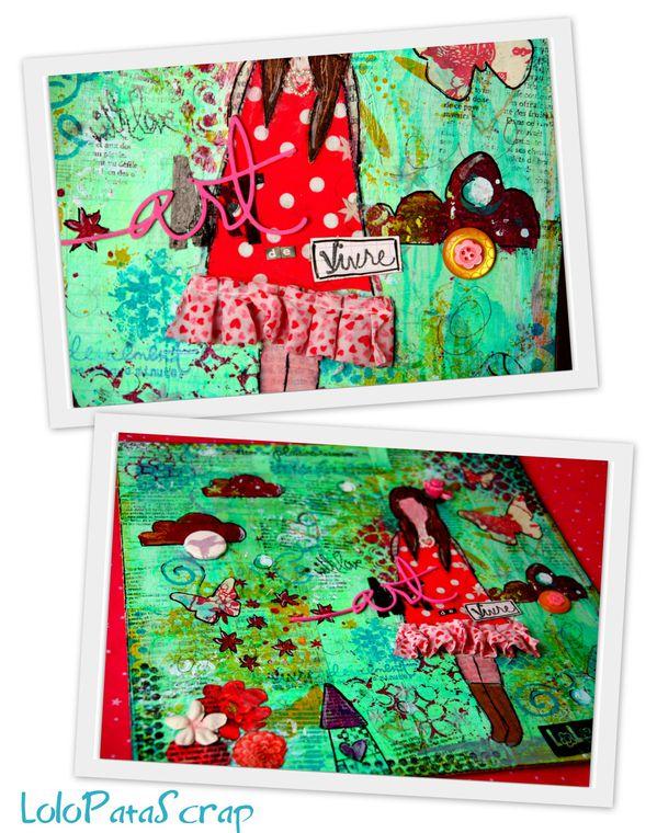2-She art première toile-001