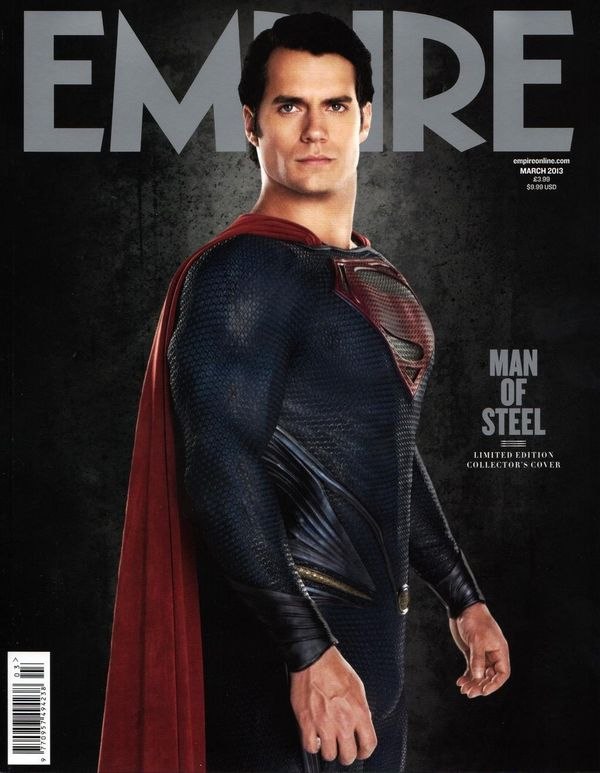 Man of Steel Couverture Empire Magazine