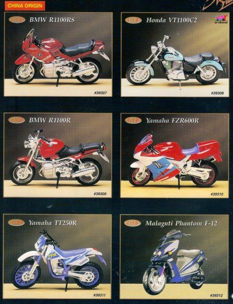 catalogue-maisto-1996-fzr600r-tt250r-malaguti-phantom-f12
