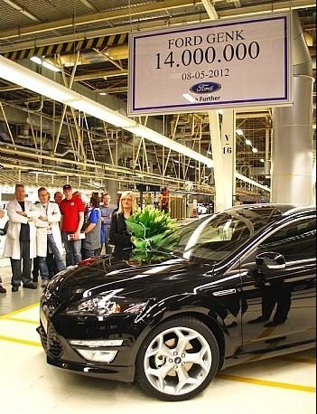 Ford Genk 14 millions