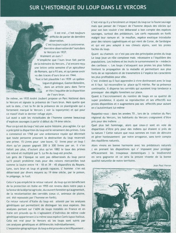 texte loup faup
