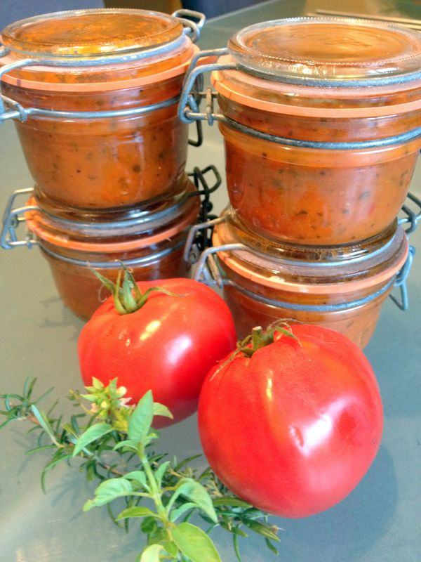 coulis de tomate