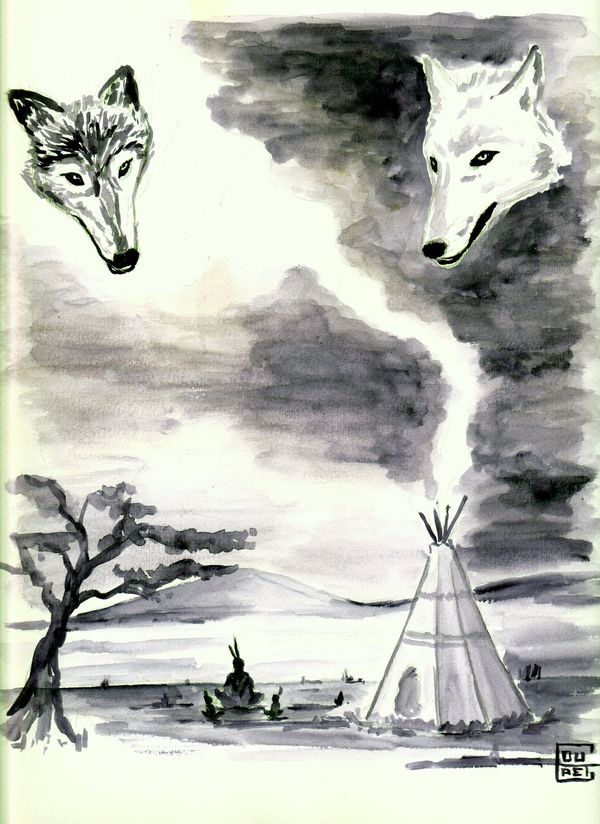 loup indiens
