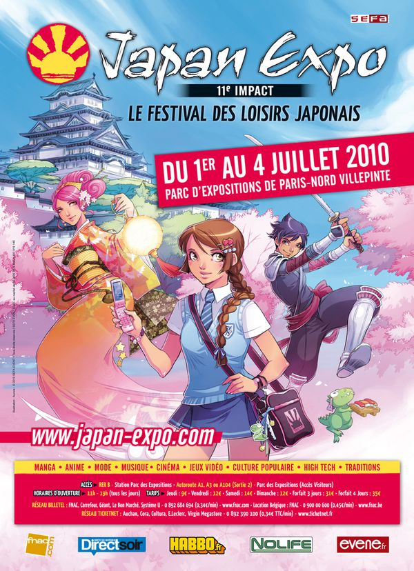 JAPAN EXPO2010 affiche