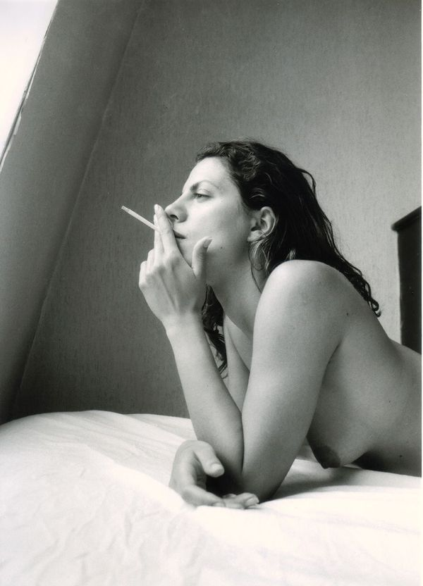 2011 smoking babes black and white series 1002 smokingfetis