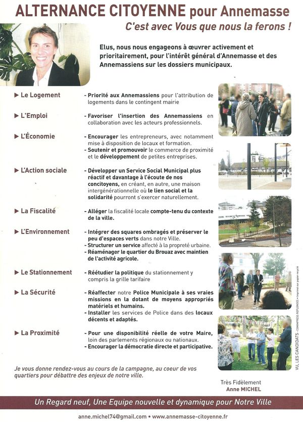 Tract 1 élections municipales verso