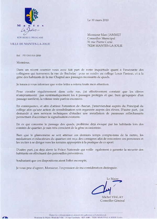 reponseMaire