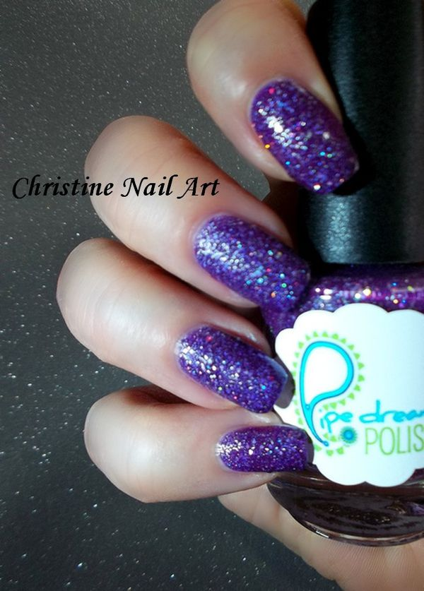 Pipe dream polish Born to the purple