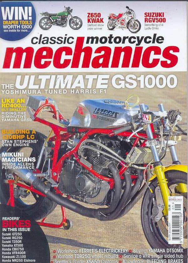 Classic Motorcycle Mechanics January 2011
