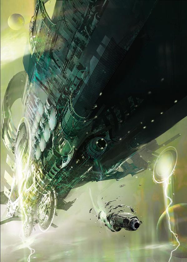 Stephan Martiniere shipgreen