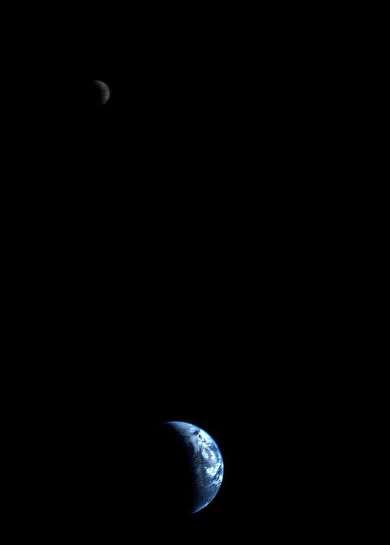 Voyager - 1977 - Terre - Lune