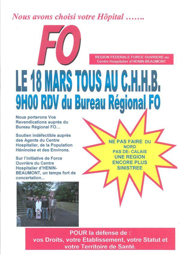Reunion Région FO