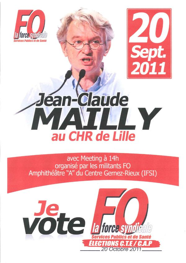 AFFICHE MAILLY Lille