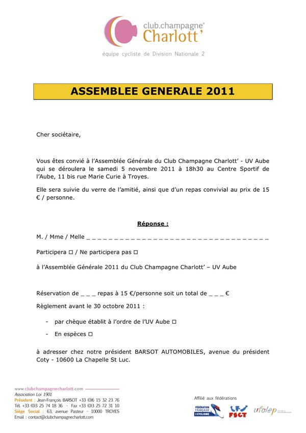 Invitation AG 2011