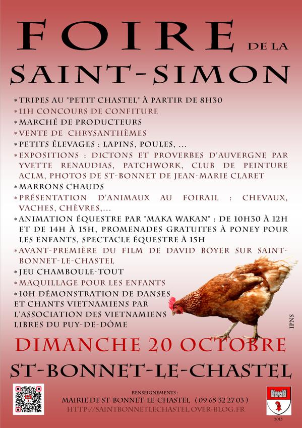 affiche v33 foire st simon octobre 2013A3