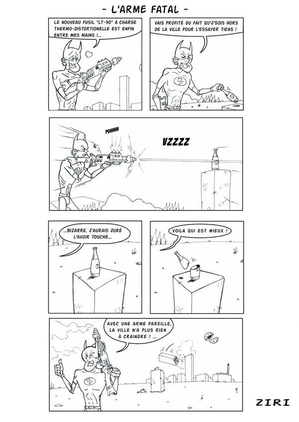 Ziri - Arme fatale