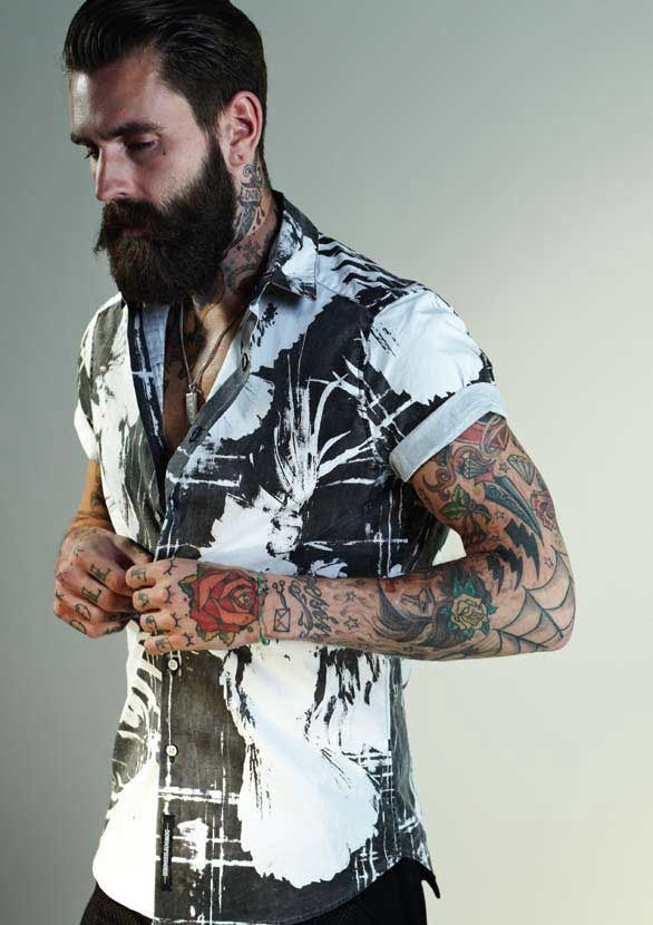 Tatouages...Ricky HALL...01