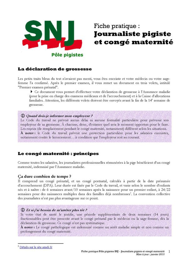 SNJ Congé mater pigistes COMPLET Page 01