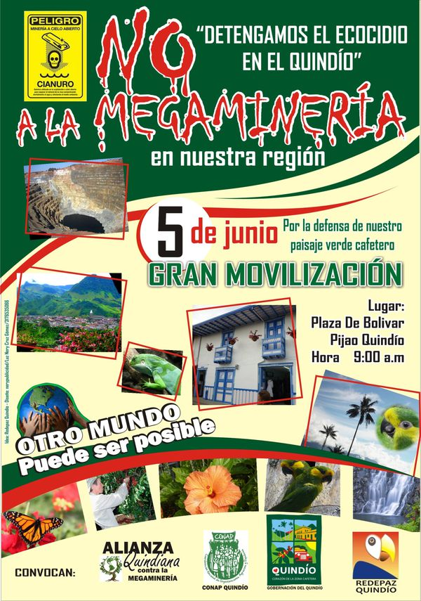 AFICHE NO A LA MEGAMINERIA FINAL 2