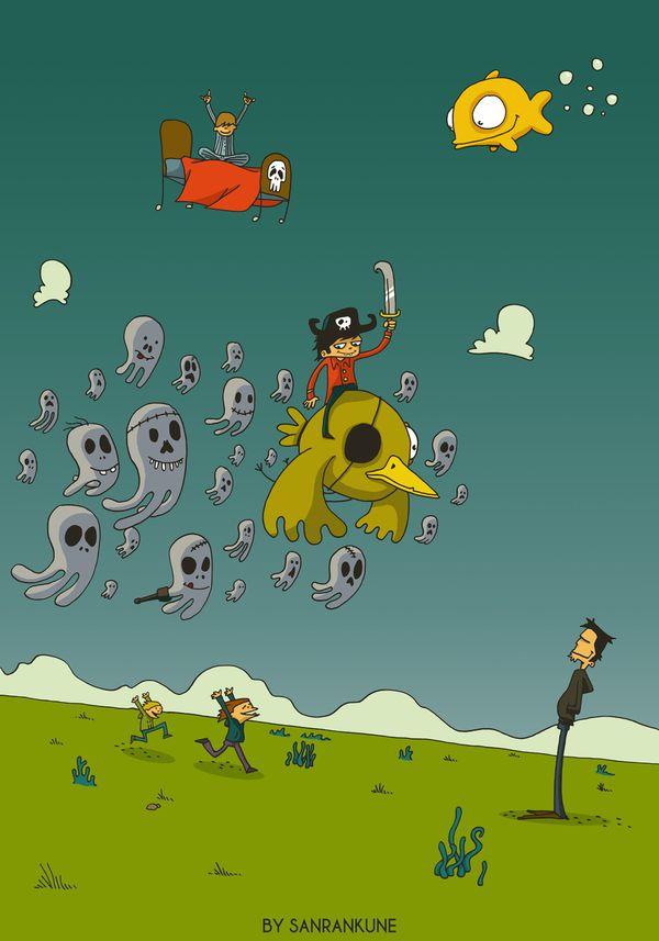 Le_retour_du-pirate_illustration_enfant_poisson_oiseau_lit_.jpg