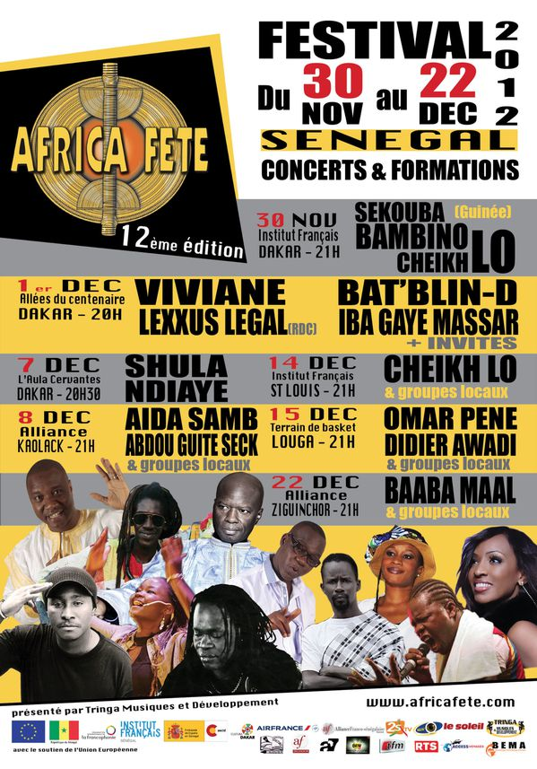 AFRICA FETE Affiche 2012