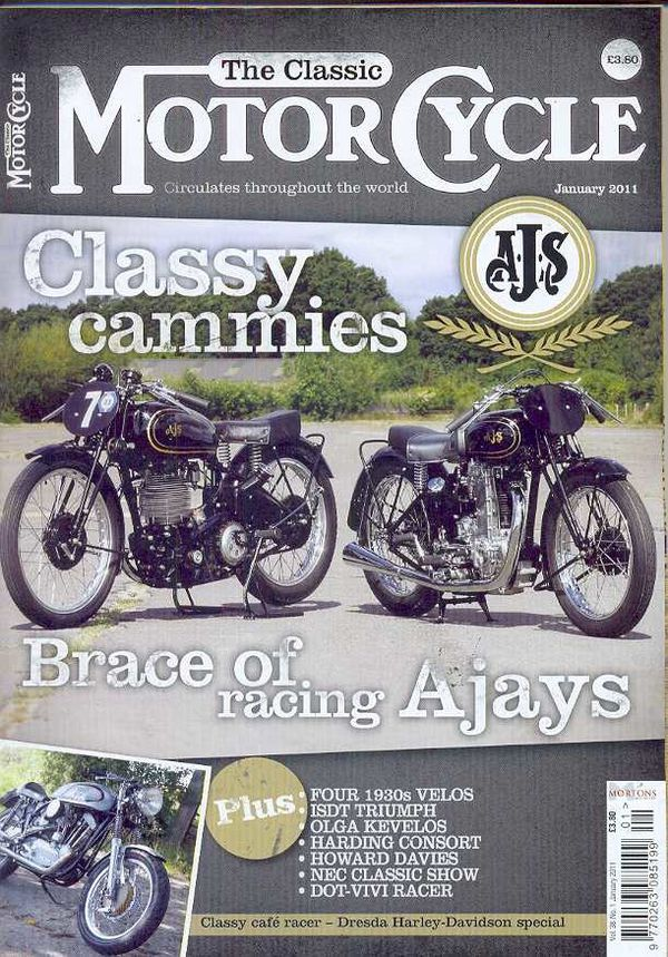 Classic Motorcycle January 2011