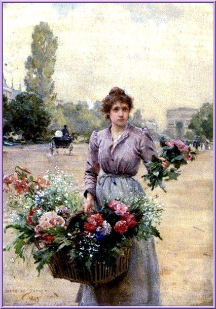 de-Schryver-1862-1942--Near-the-Arc-De-Triomphe.jpg