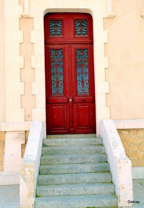 x01 - Porte et escalier