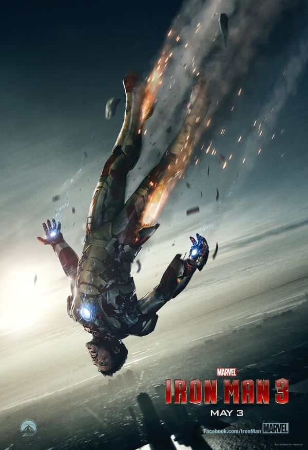 Iron Man 3 Super Bowl Poster