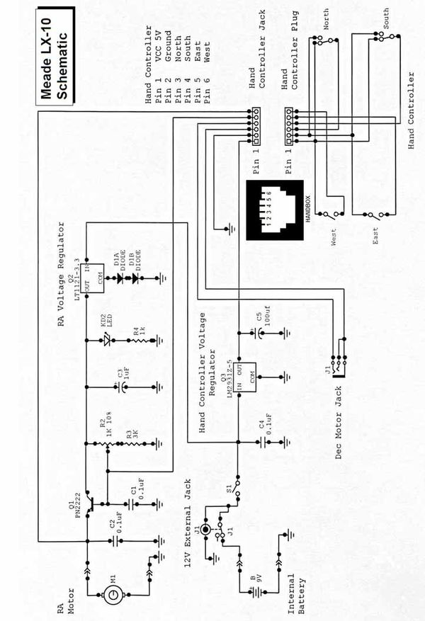 LX 10 Schematic rotation G