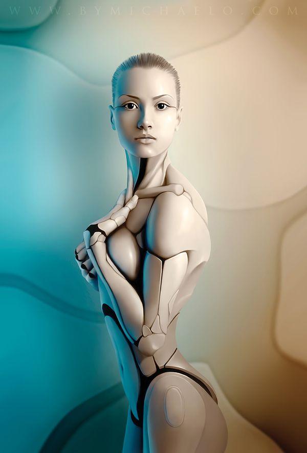 michael Io femme robot