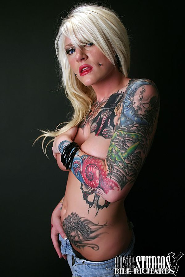 2011 inked babes Cameron Rodgers 005