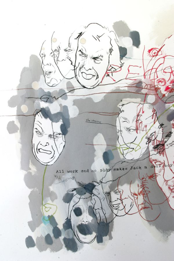 Face à Face avec Jack Nicholson / shining (détail)