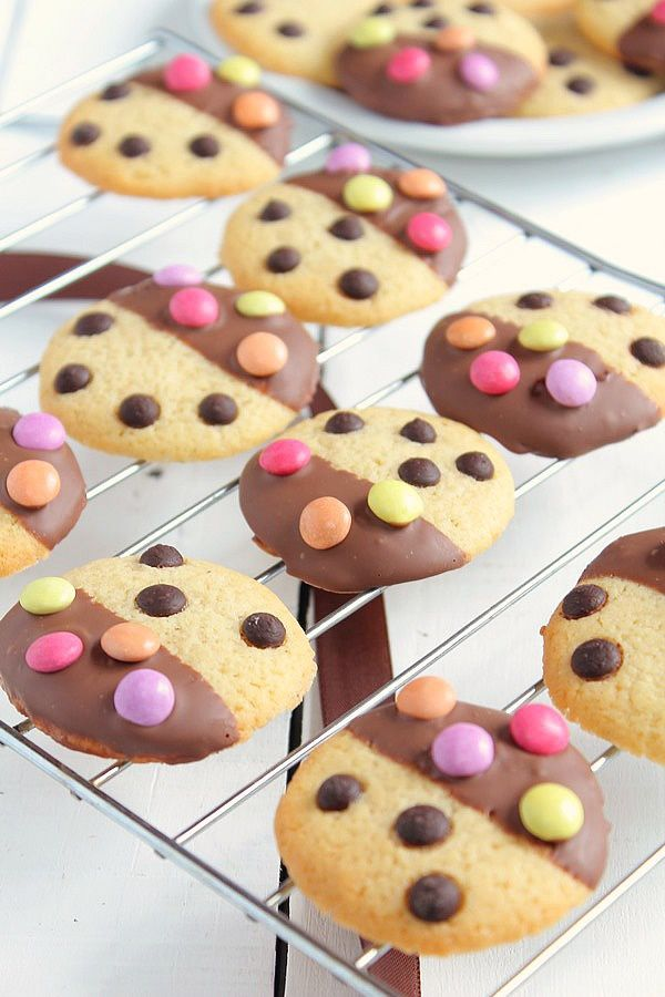 Cookies Bicolores Chocolat & Smarties 2#