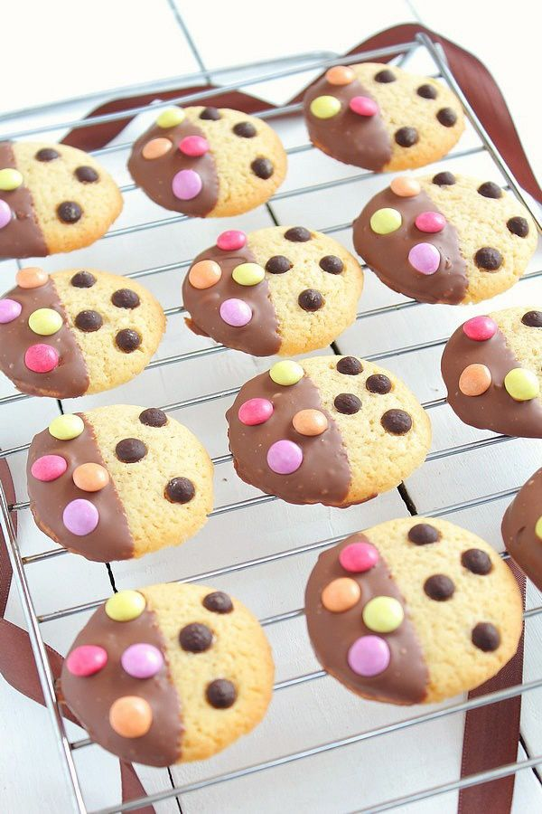 Cookies Bicolores Chocolat & Smarties 8#