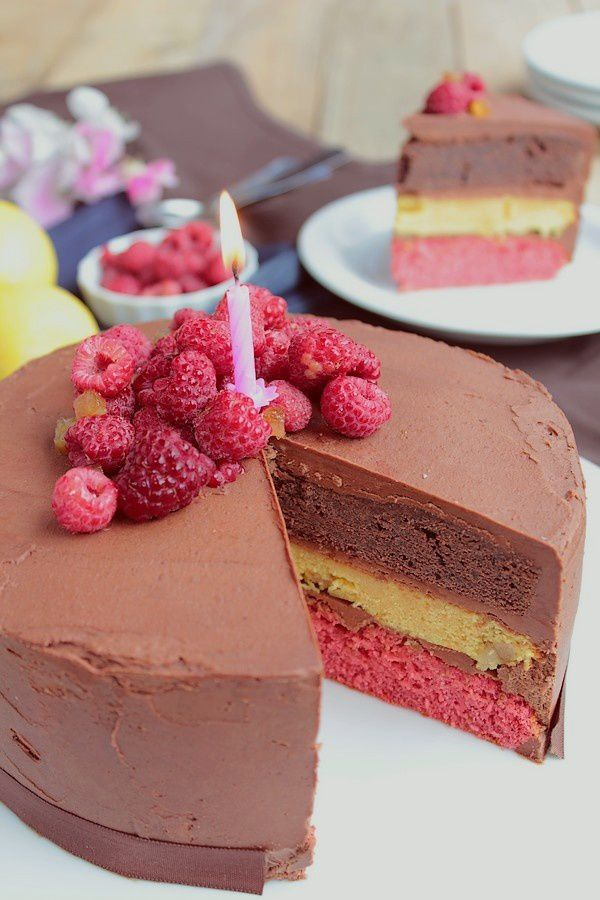 Layer Cake Chocolat Citron Framboise pour les 4 an-copie-1